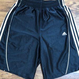 Men's Adidas Athletic Shorts Navy Size M